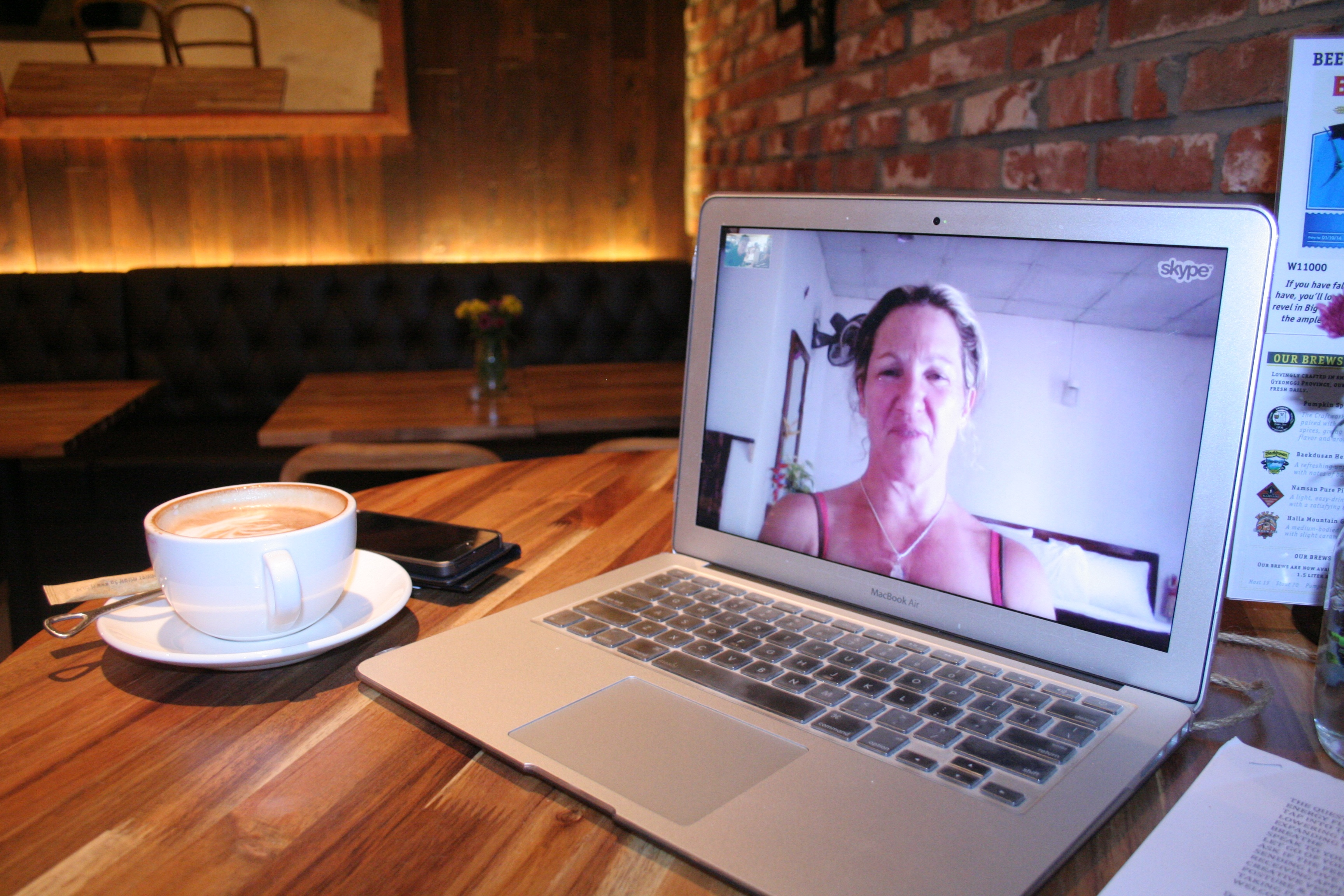 video web chat laptop connecting with friends combating loneliness